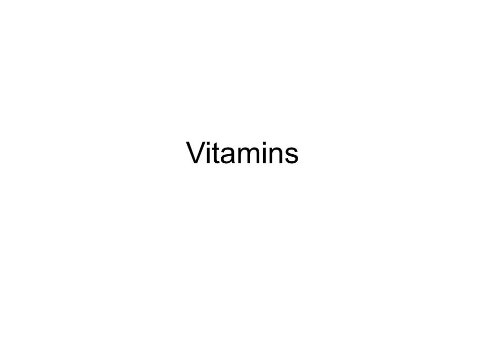 What is it.vitamins are organic compounds which are needed in small quantities to sustain life.