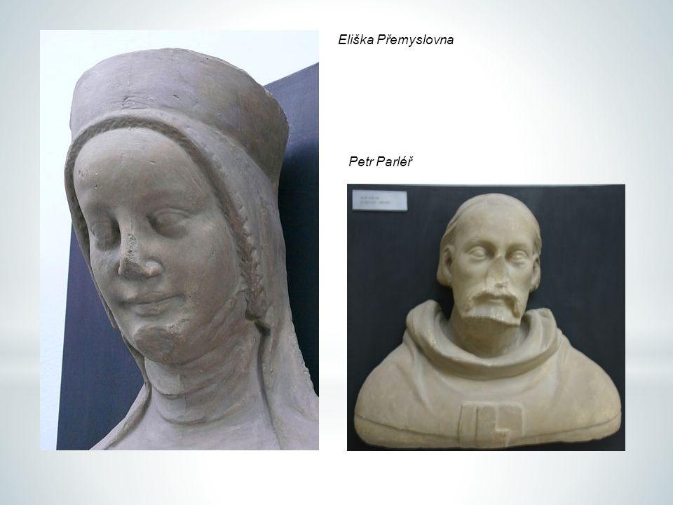 Petr Parléř Eliška Přemyslovna