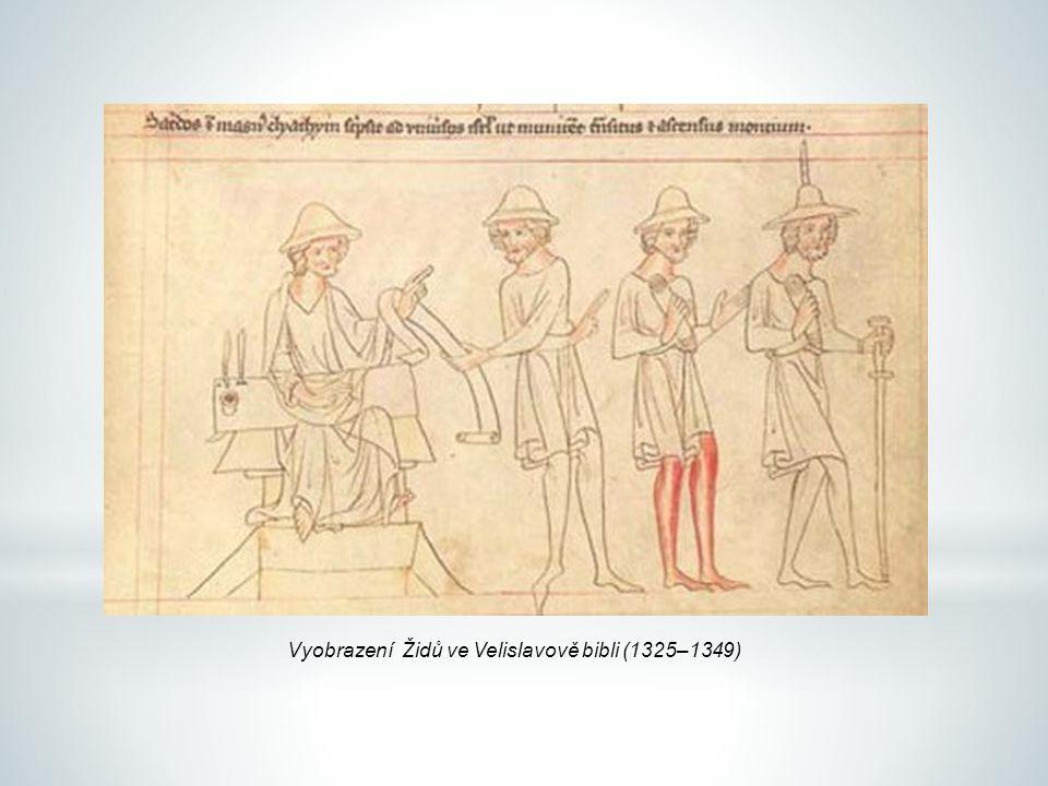Vyobrazení Židů ve Velislavově bibli (1325–1349)