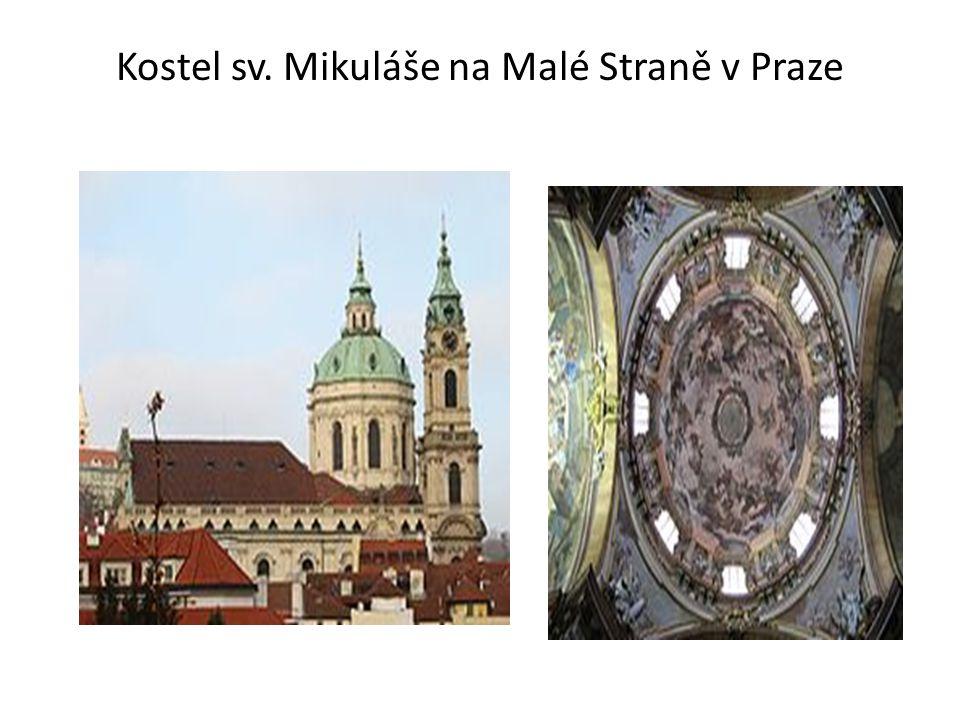 Kostel sv. Mikuláše na Malé Straně v Praze