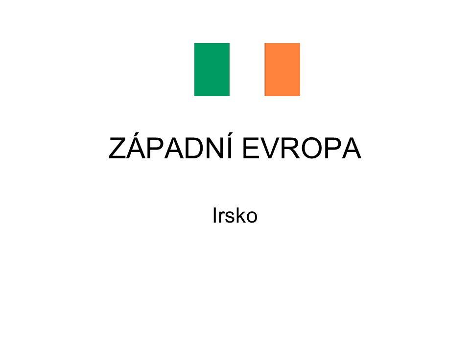 ZÁPADNÍ EVROPA Irsko