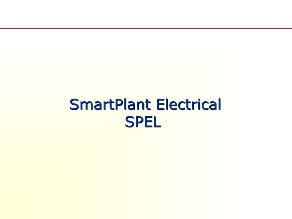 Power instalation layout – Situační schéma silových rozvodů