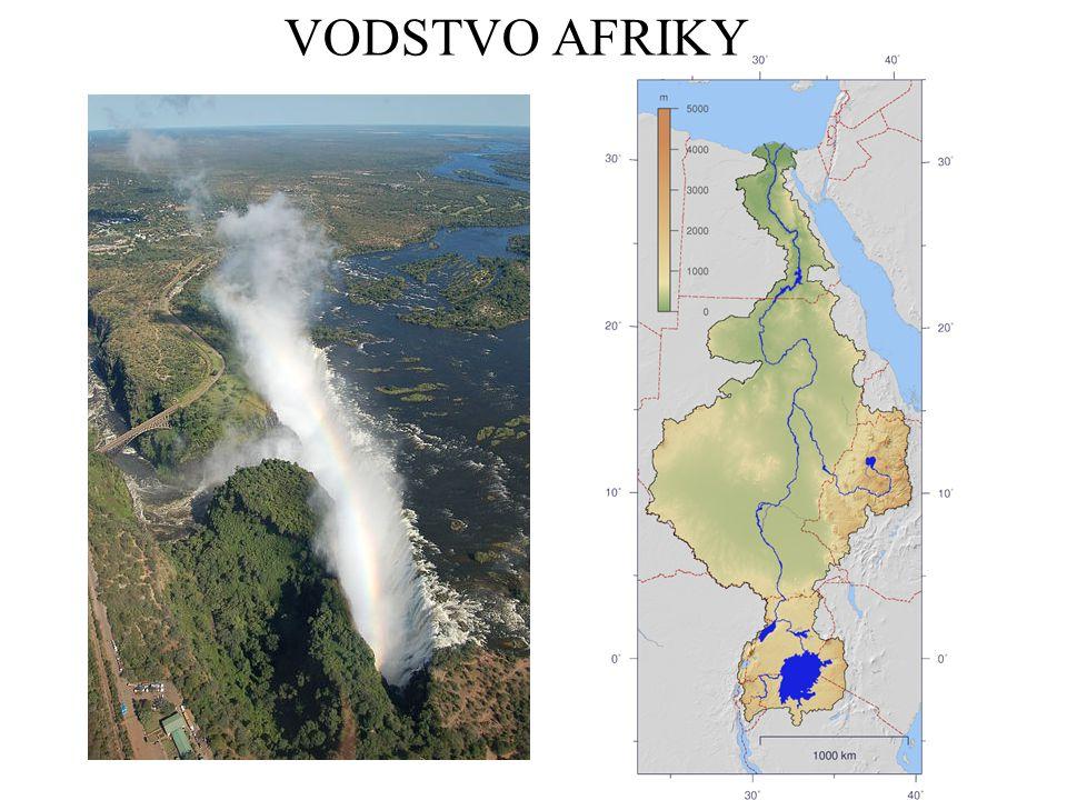 VODSTVO AFRIKY - ŘEŠENÍ