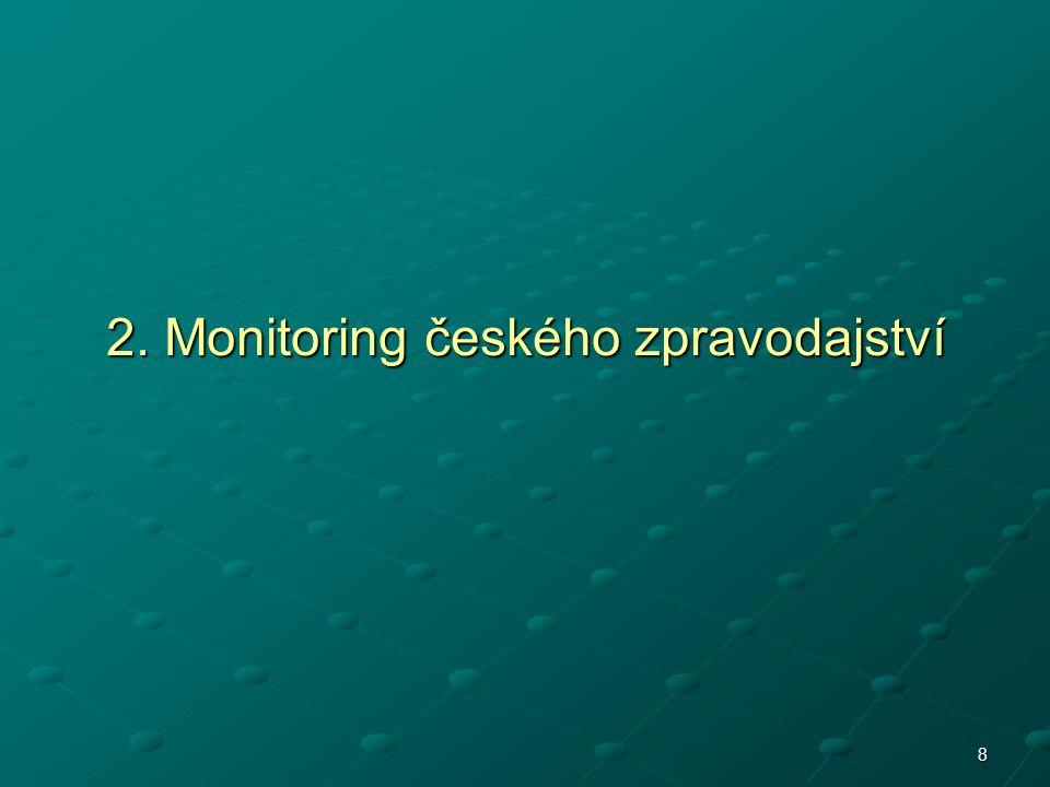 2. Monitoring českého zpravodajství 8