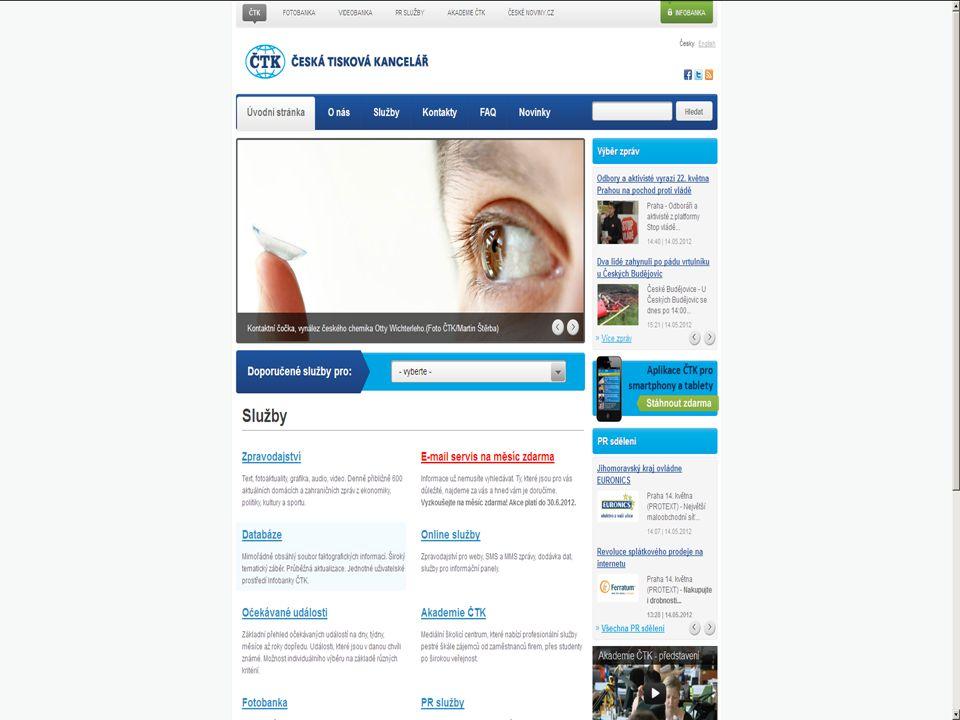 Newton Media Monitoring Popis On-line vyhledávání v největším elektronickém archivu mediálních zpráv v České republice.