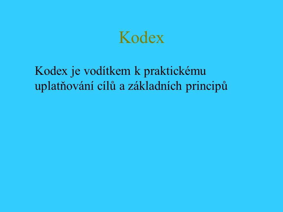 Kodex (pokr.) Bezúhonnost a objektivita: -tlak na osobu auditora -přijímání a nabízení darů nebo pohostinnosti
