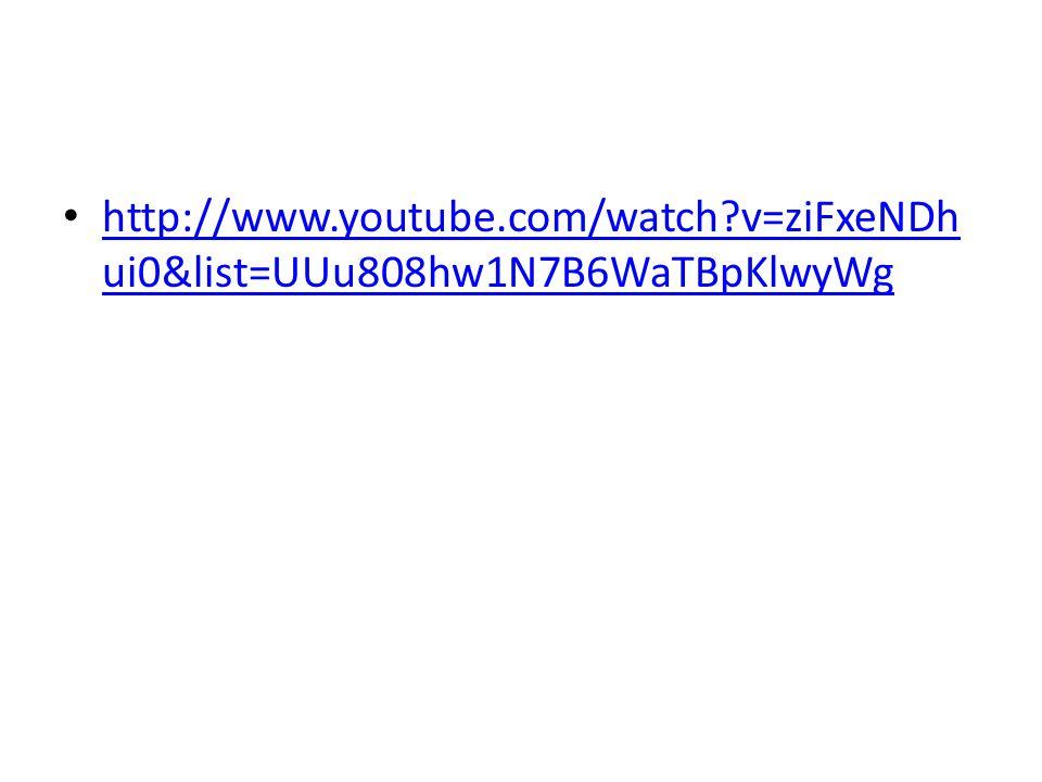 http://www.youtube.com/watch?v=ziFxeNDh ui0&list=UUu808hw1N7B6WaTBpKlwyWg http://www.youtube.com/watch?v=ziFxeNDh ui0&list=UUu808hw1N7B6WaTBpKlwyWg