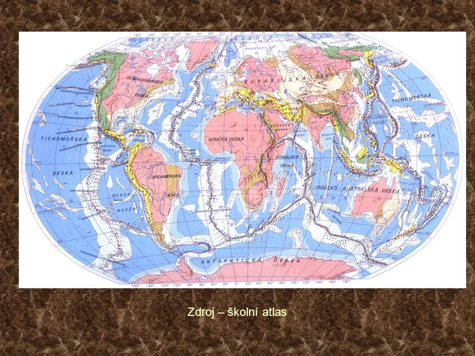 Zdroj – školní atlas