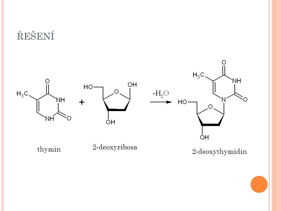 S LOŽENÍ NUKLEOTIDU 3) Z BYTEK KYSELINY FOSFOREČNÉ - esterifikace hydroxylové skupiny na pátém uhlíku sacharidu