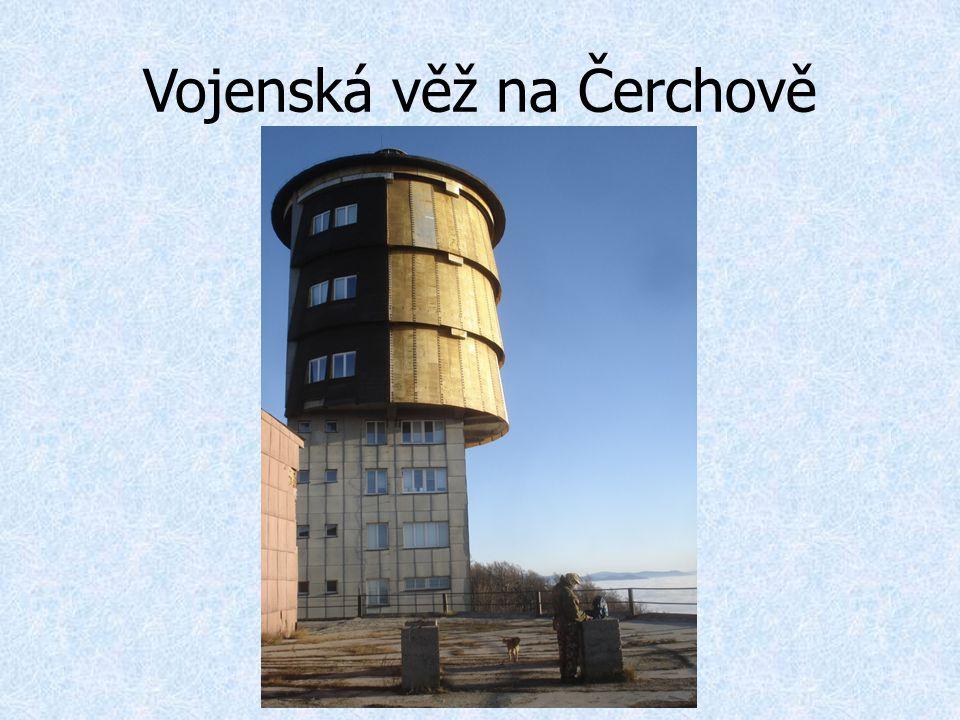 Vojenská věž na Čerchově