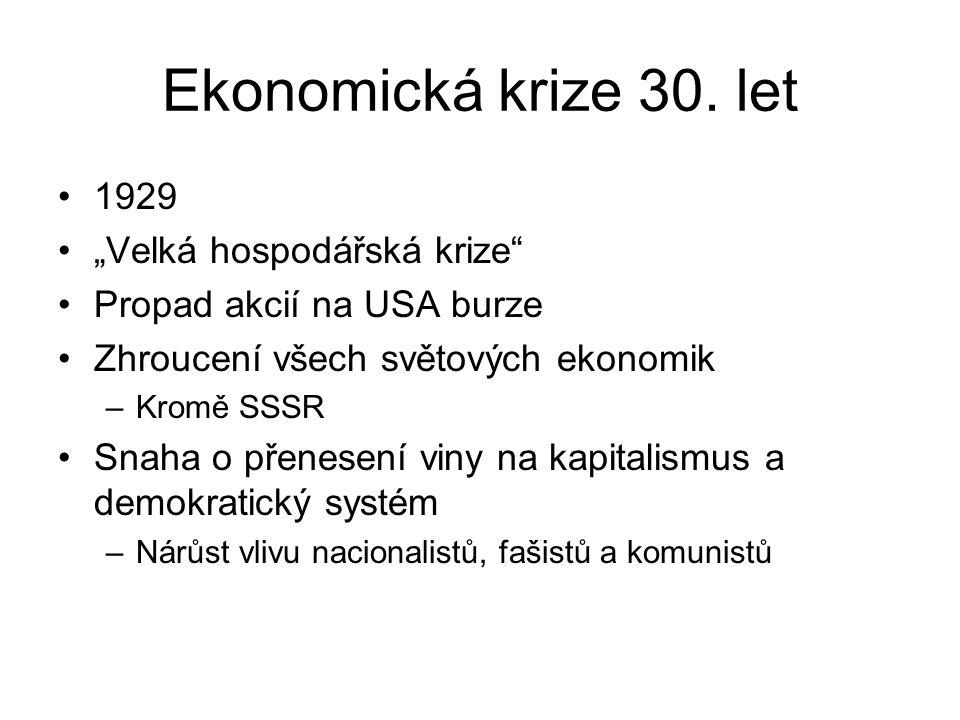 Ekonomická krize 30.