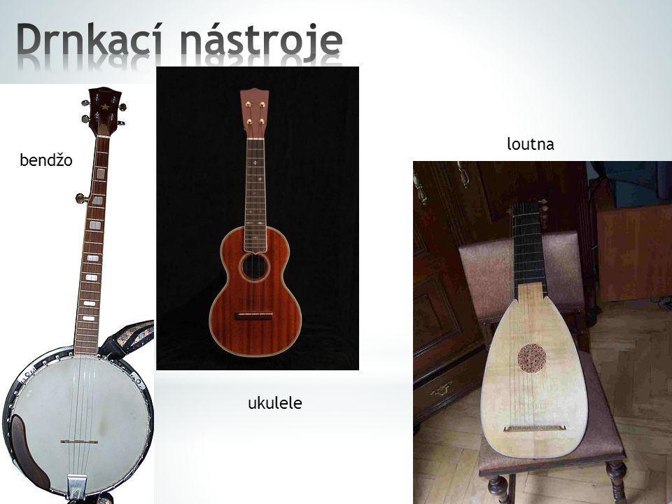 balalajka mandolína
