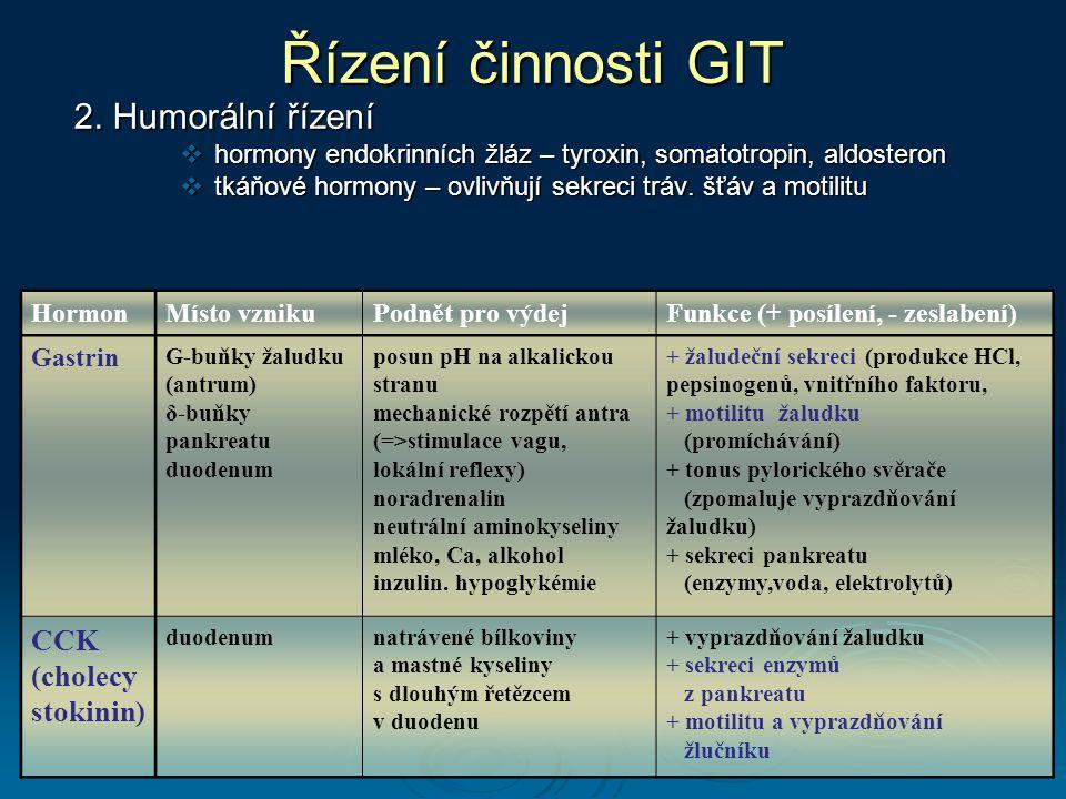 Řízení činnosti GIT 2.