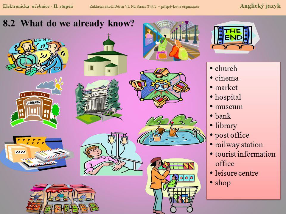 8.2 What do we already know.Elektronická učebnice - II.