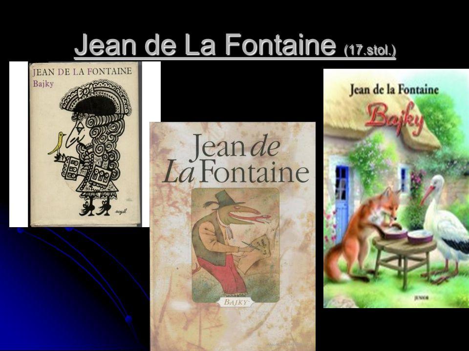 Jean de La Fontaine (17.stol.)