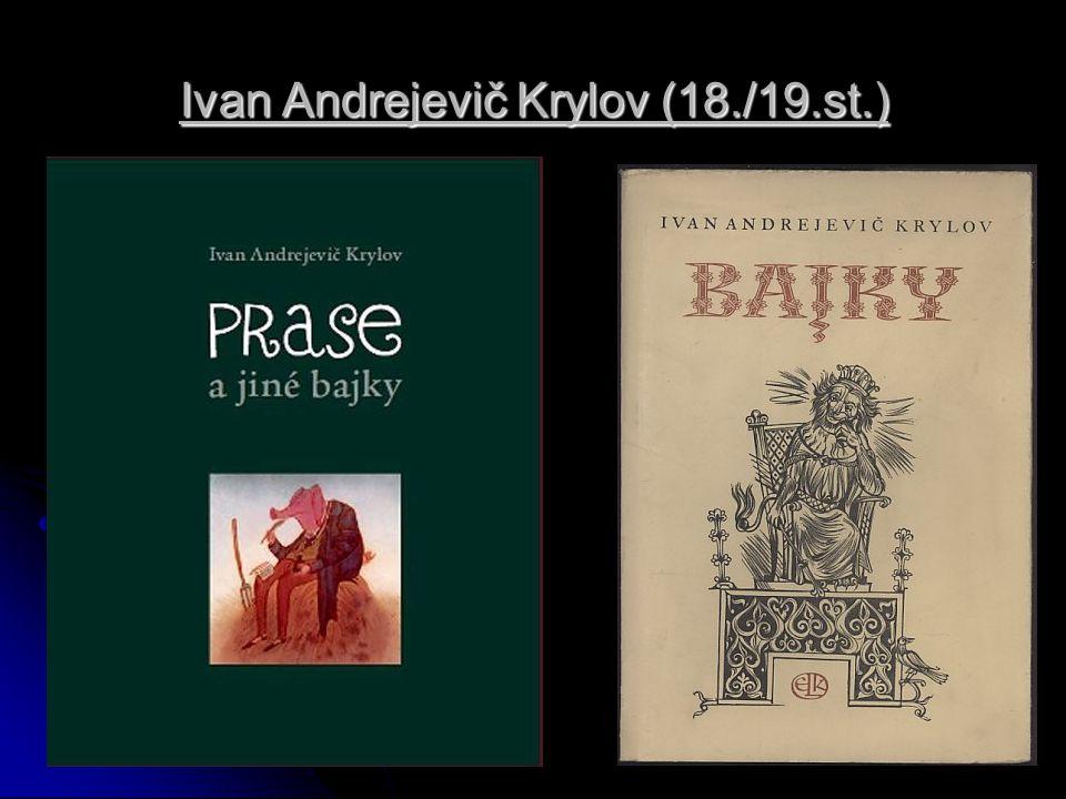 Ivan Andrejevič Krylov (18./19.st.)
