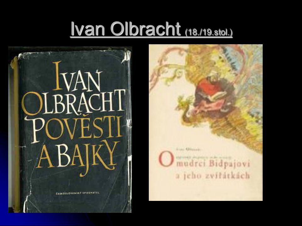 Ivan Olbracht (18./19.stol.)