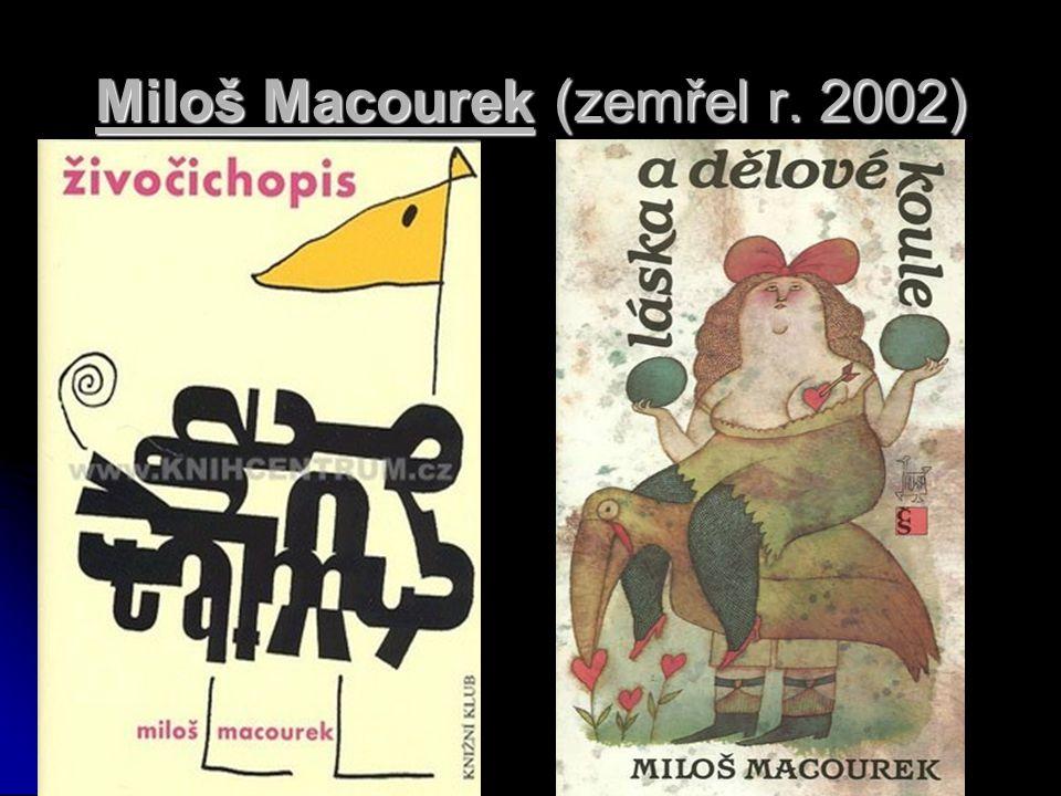 Miloš Macourek (zemřel r. 2002)