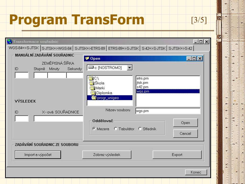 13 Program TransForm [3/5]