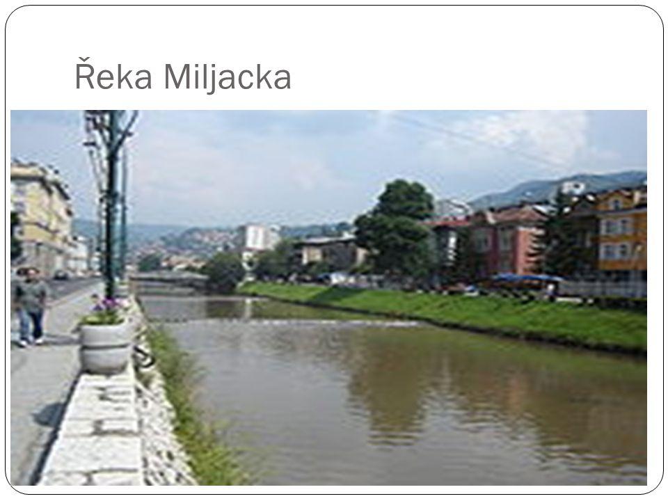 Řeka Miljacka