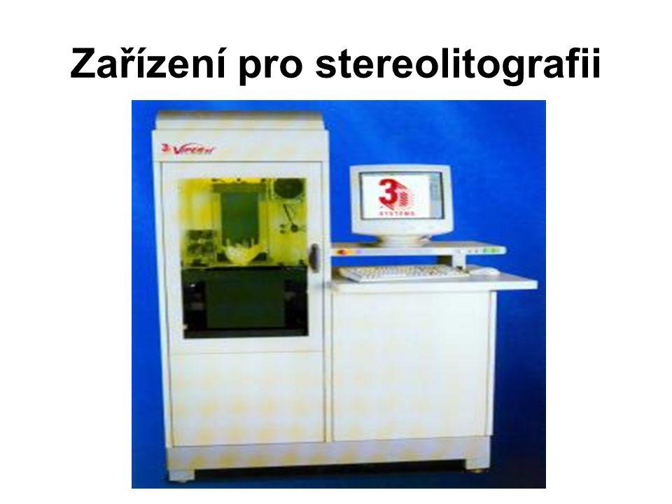 Zařízení pro stereolitografii
