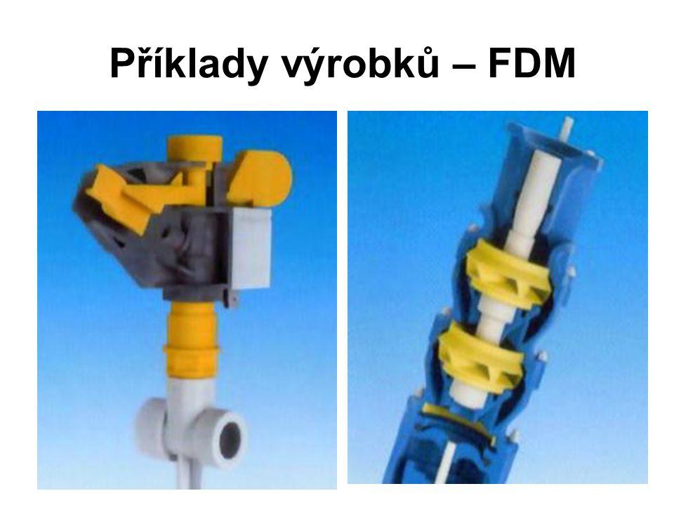 Příklady výrobků – FDM