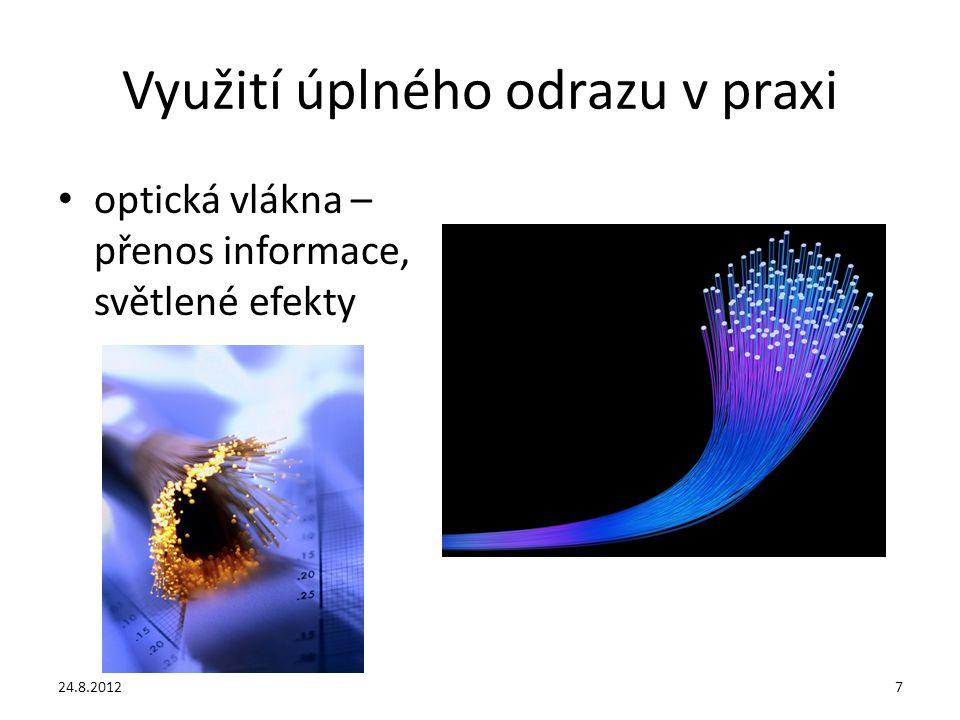 Použité zdroje KOLÁŘOVÁ, R., BOHUNĚK, J.Fyzika pro 9.