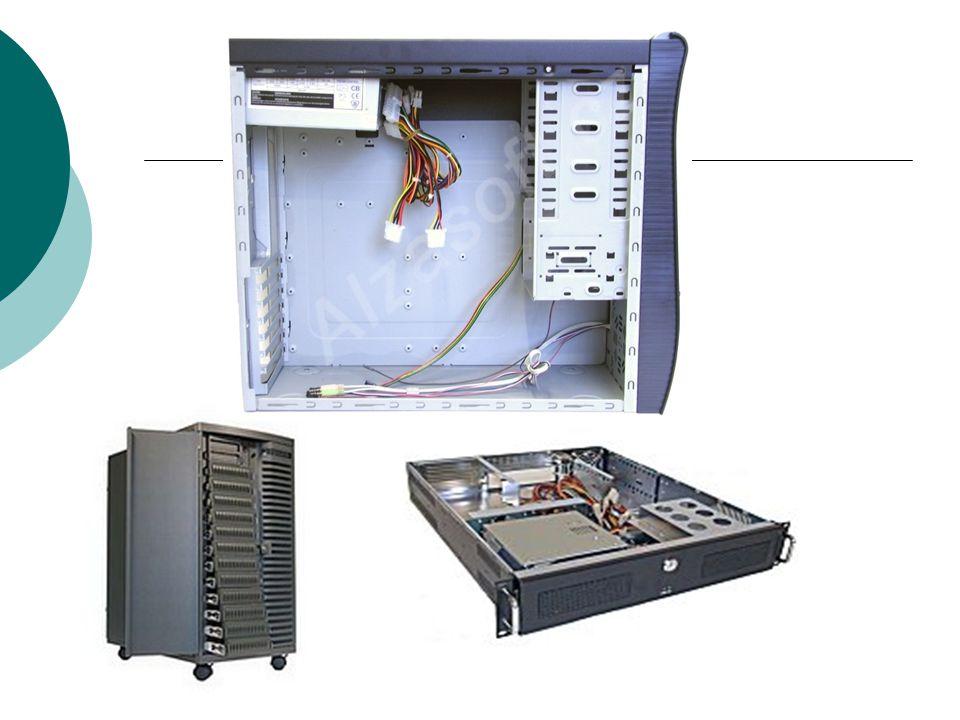 """Čelo skříně  Rozměry dle typu case ( př.:540 x 198 x 458 mm)  Obsahuje """"šuplíky na Mechaniky – pozice  5,25 – CD a DVD mechaniky  3.5 vnitřní i vnější – HDD  Konektory na předním panelu: USB popř Firewire IEEE1394 vstup pro sluchátka výstup pro mikrofon – mic  LED diody: Power a HDD  Tlačítka Reset a Power  Chlazení pomocí ventilátorů - nadstavba"""