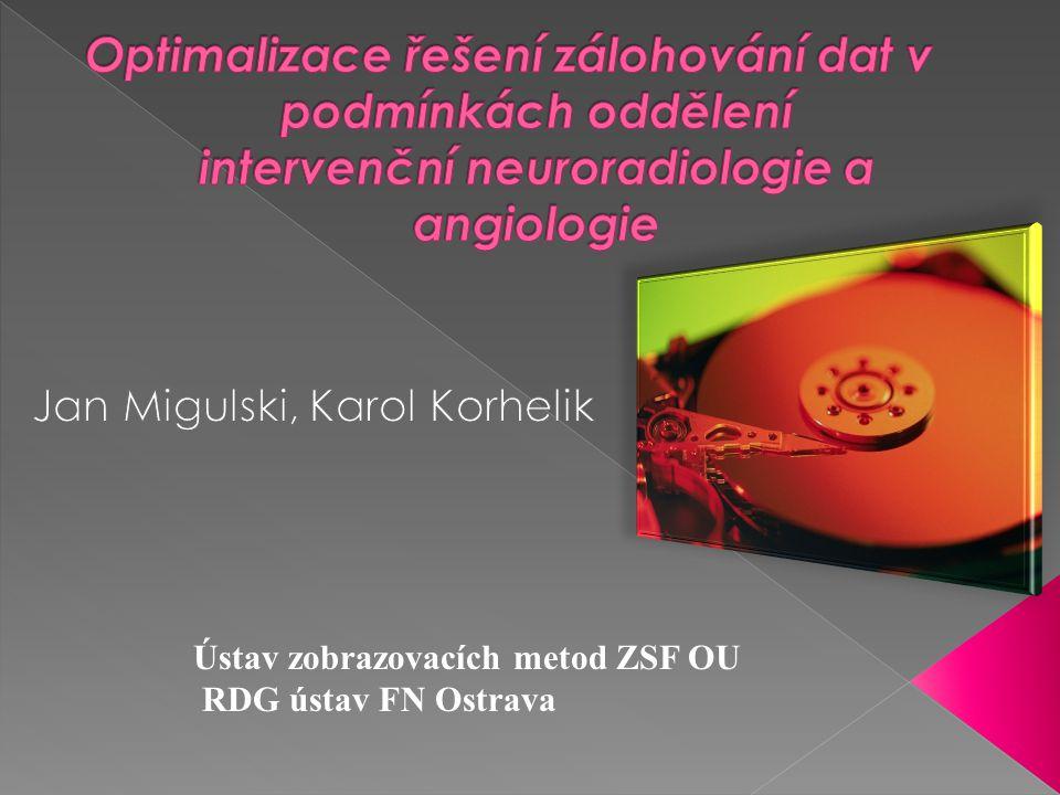 Ústav zobrazovacích metod ZSF OU RDG ústav FN Ostrava