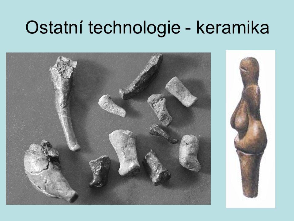 Ostatní technologie - keramika