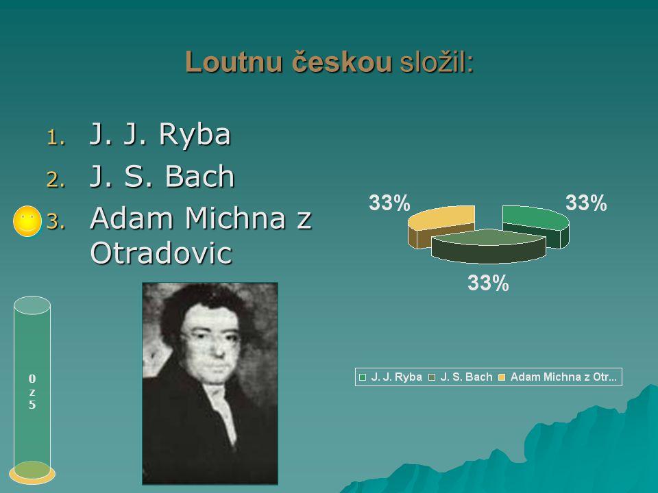 Obranu jazyka slovanského, zvláště pak českého napsal: 0z50z5 1. Bohuslav Balbín 2. J. A. Komenský 3. J. J. Ryba