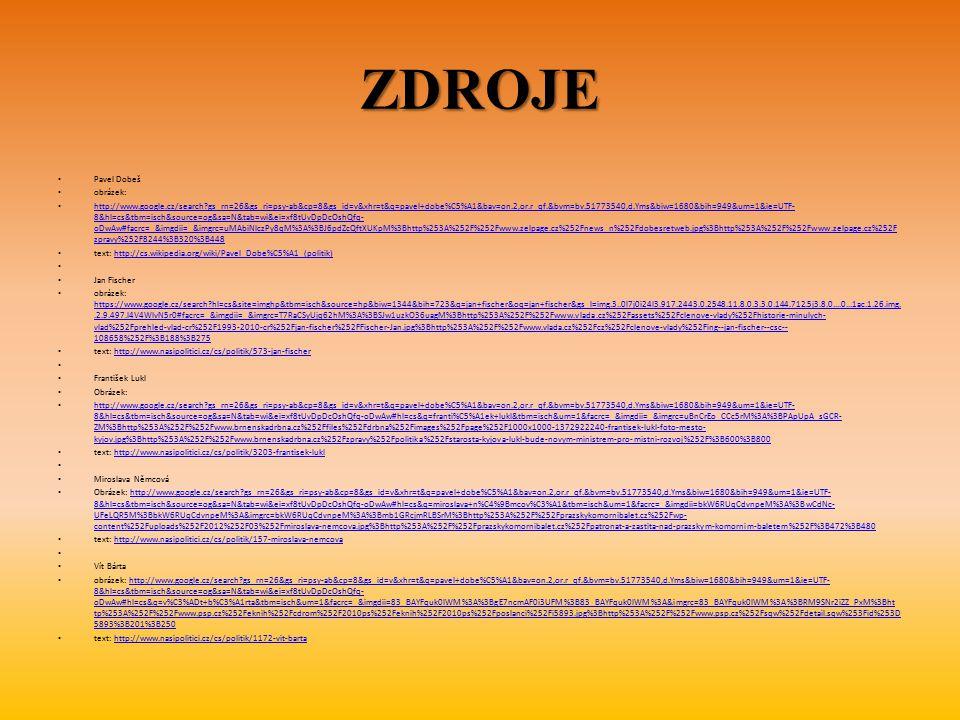 ZDROJE Pavel Dobeš obrázek: http://www.google.cz/search?gs_rn=26&gs_ri=psy-ab&cp=8&gs_id=v&xhr=t&q=pavel+dobe%C5%A1&bav=on.2,or.r_qf.&bvm=bv.51773540,