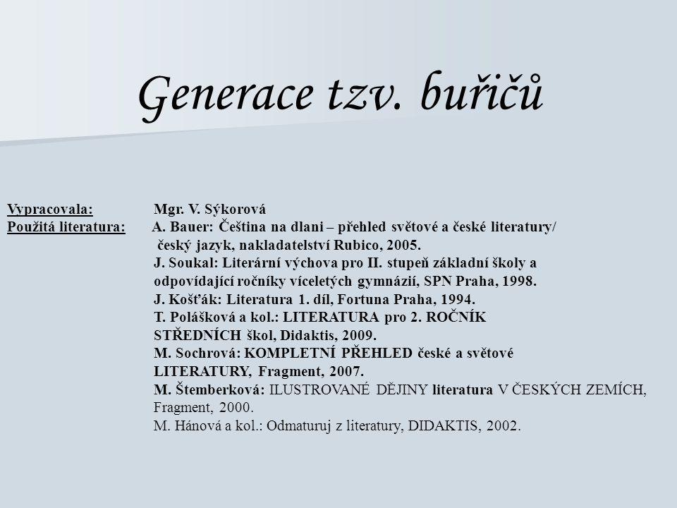 Generace tzv. buřičů 8. ročník
