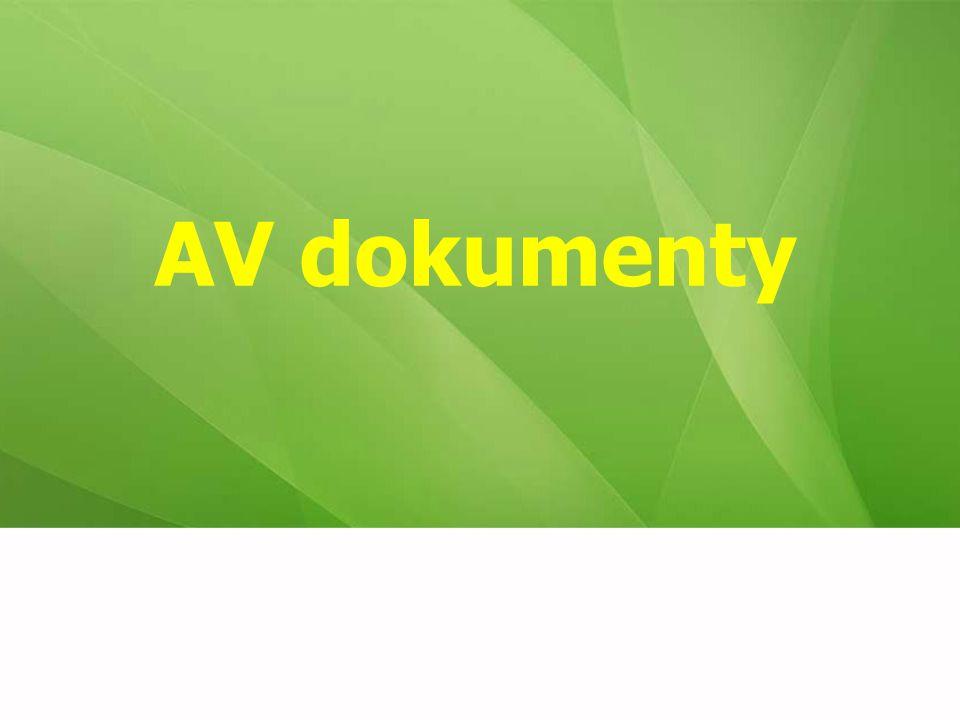 AV dokumenty