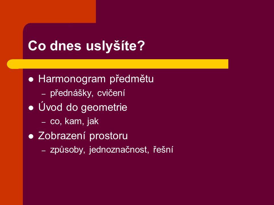Literatura Černý J., Kočandrlová M.: Konstruktivní geometrie (skripta, FSv ČVUT, 2005) Černý J., Kočandrlová M.: Konstruktivní geometrie (monografie, FSv ČVUT, 1998, 2003) http://mat.fsv.cvut.cz/capova http://mat.fsv.cvut.cz/capova