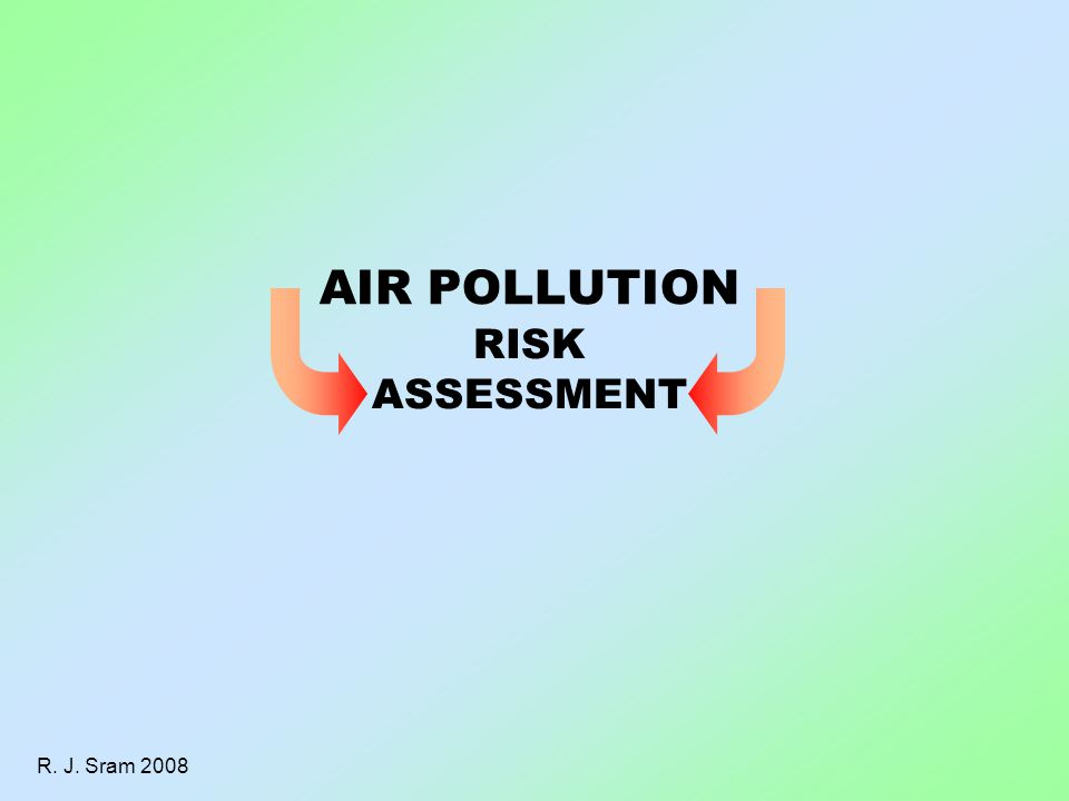 R. J. Sram 2008 RISK ASSESSMENT AIR POLLUTION