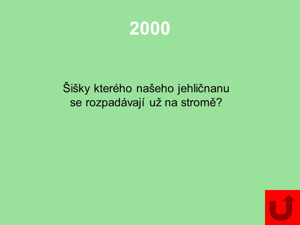 2000 Jmenujte dva chráněné druhy skupiny kapraďorosty.