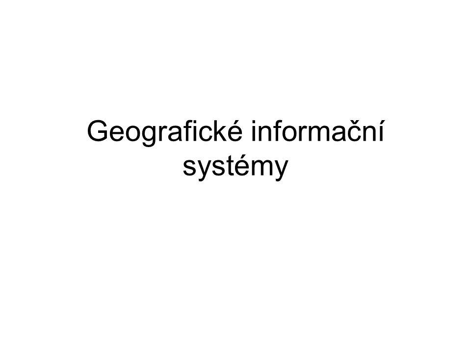 Geografické informační systémy