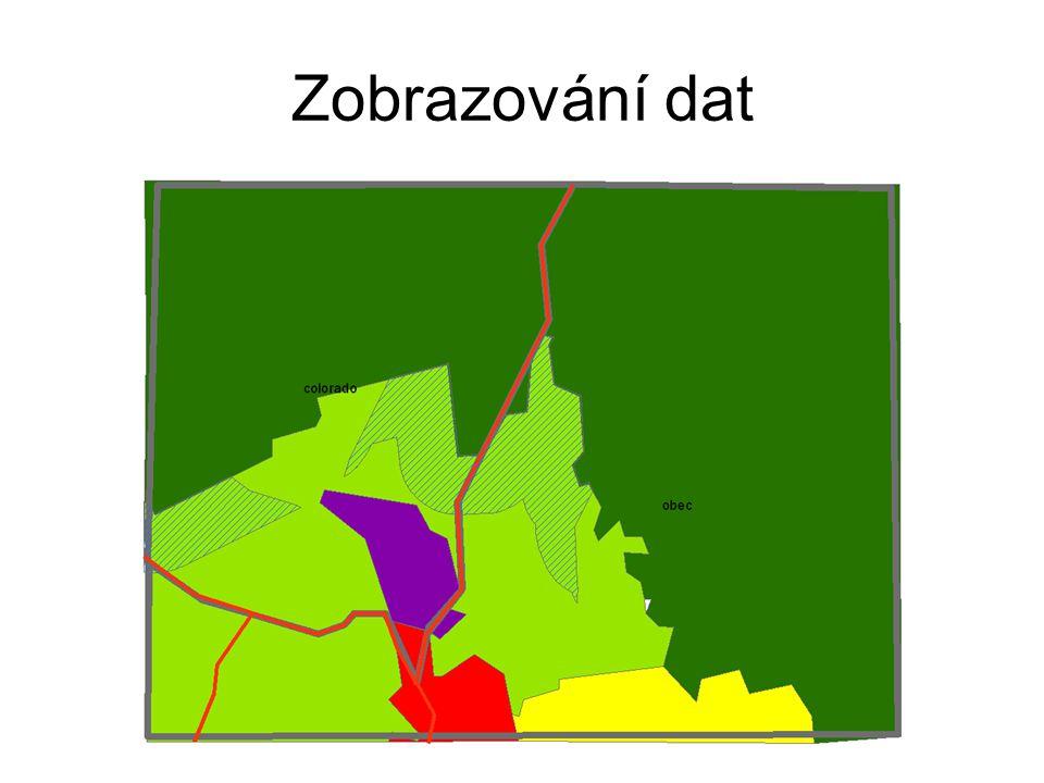 Zobrazování dat