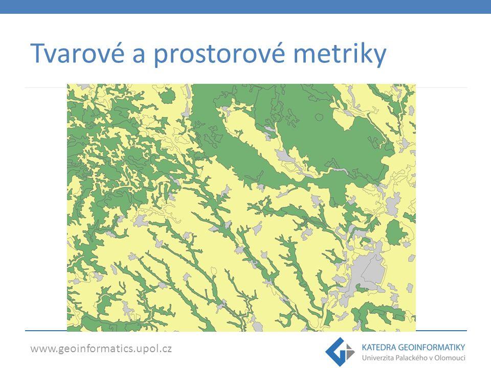 www.geoinformatics.upol.cz Tvarové a prostorové metriky