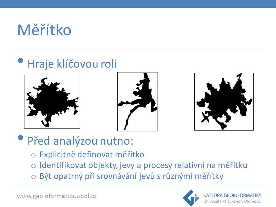 www.geoinformatics.upol.cz Měřítková invariance Fraktální krajina