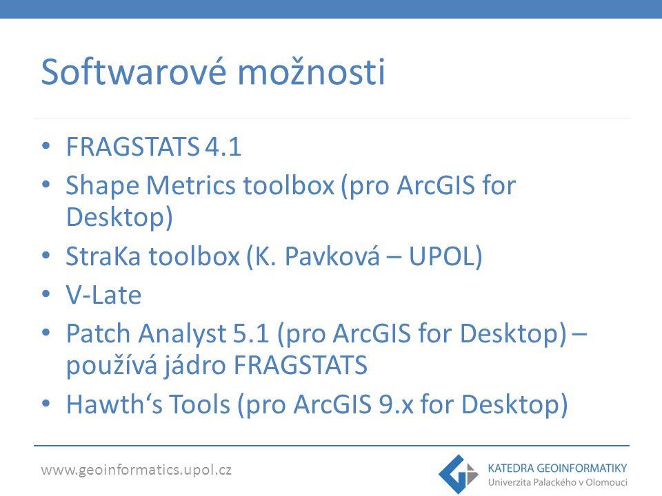 www.geoinformatics.upol.cz Clusterování