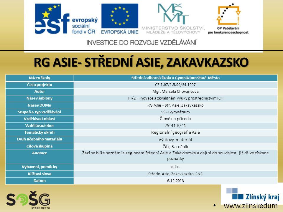 www.zlinskedum y.cz Název školyStřední odborná škola a Gymnázium Staré Město Číslo projektuCZ.1.07/1.5.00/34.1007 AutorMgr.