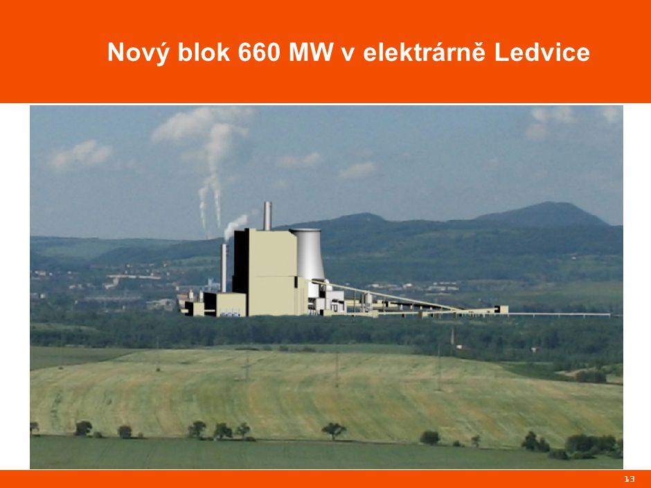 13 Nový blok 660 MW v elektrárně Ledvice