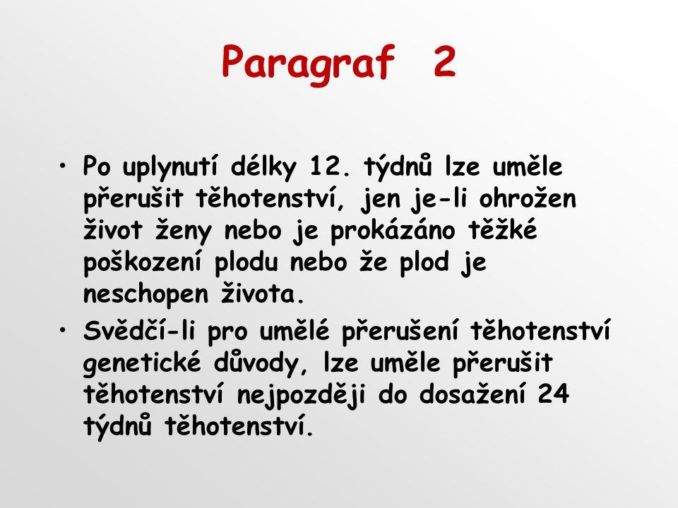 Paragraf 2 Po uplynutí délky 12.