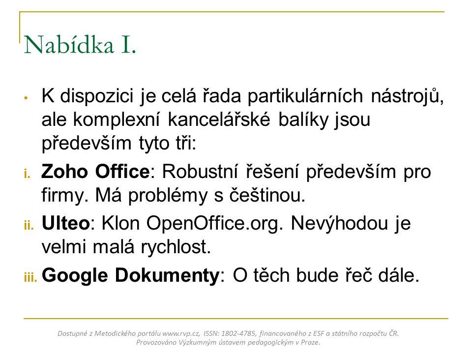 Úvodní představení Dostupné z Metodického portálu www.rvp.cz, ISSN: 1802-4785, financovaného z ESF a státního rozpočtu ČR.