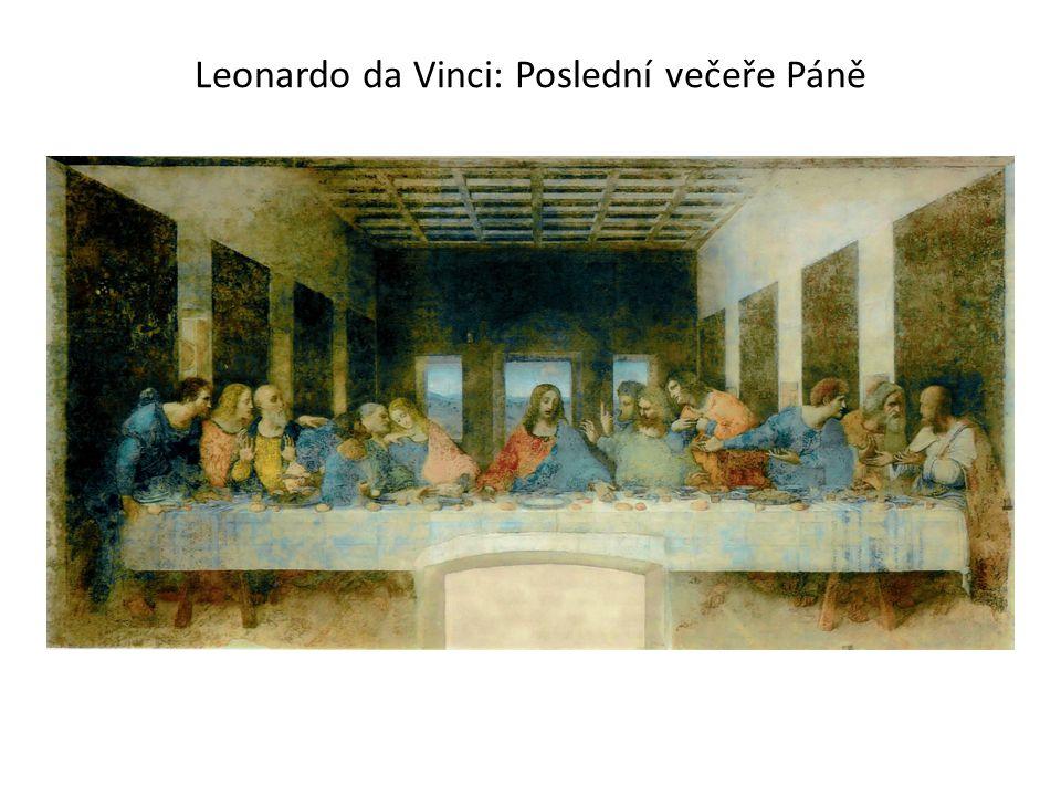Leonardo da Vinci: Poslední večeře Páně