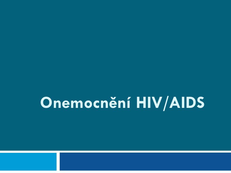 Přehled  Etiologie, způsoby přenosu HIV  Bezpečnostní pravidla  Epidemiologie, význam pandemie Ve světě V ČR HIV+ děti  Klinické a laboratorní kategorie Klinické projevy HIV  Diagnostika  Terapie