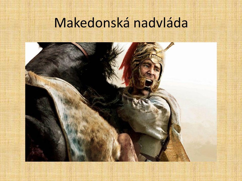 Kde ležela Makedonie?