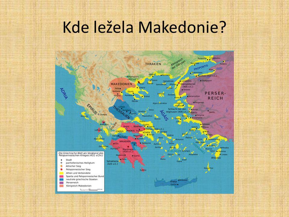 Forma vlády V učebnici na str.86 zjisti: Jaká forma vládnutí byla v Makedonii.